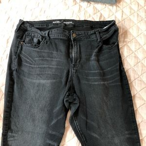 Old Navy Pants - Old Navy Black Rockstar  Jeans
